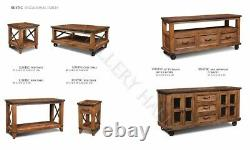 84 Reclaimed Hardwood Rectangle Dining Table Set With 4 Chairs and Bench