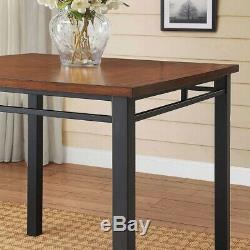 Counter Height Dining Table & Chairs Set Pub Sets Kitchen Tables Breakfast Nook