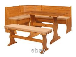 Dining Bench Cushion Set Kitchen Chair Table For Breakfast Corner Furniture