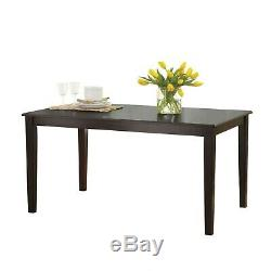 Dining Room Set Farmhouse Kitchen Tables And Chairs Six Seat Wooden Table Sets