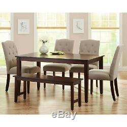 Dining Room Table Set Modern Wooden Kitchen Table Sets With Chairs And Bench