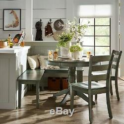 Dining Room Table Set Round Wood Farmhouse Kitchen Tables Sets Breakfast Nook