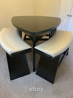 Dining table set with Three Benches