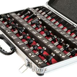 Excel Bench Top Router Table 240V with 35 Piece 1/2 Router Cutter Bit Set