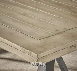 Farmhouse Dining Room Table Set Wood Bench Indoor Picnic Seating Rustic New