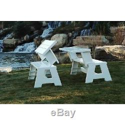 Large Outdoor Picnic Bench And Table Set Garden Patio Yard Eating Furniture Seat