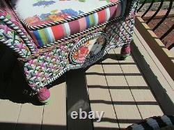 Mackenzie-childs Garden Party Patio Set 12 Pcs Local Pick Up Only