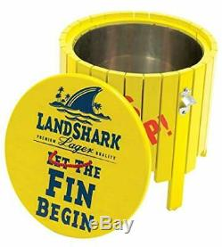 RIO Adirondack Chair Set with Outdoor Side Table with Ice Bucket Margaritaville