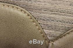 Set of 41 x 24 RV Camper Dinette Table Bench Cushions Bed Seat Houghton Doeskin