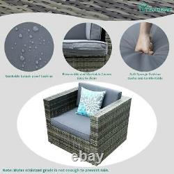YITAHOME 6Pcs Patio Furniture Set Sectional Sofa Cushion Couch Rattan Wicker